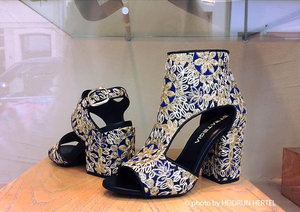 04ac0c1ef01d47 Feines Kalbsleder in Velvet oder Patchwork der kultigen Marke STATEGIA.  Hingucker Schuhe